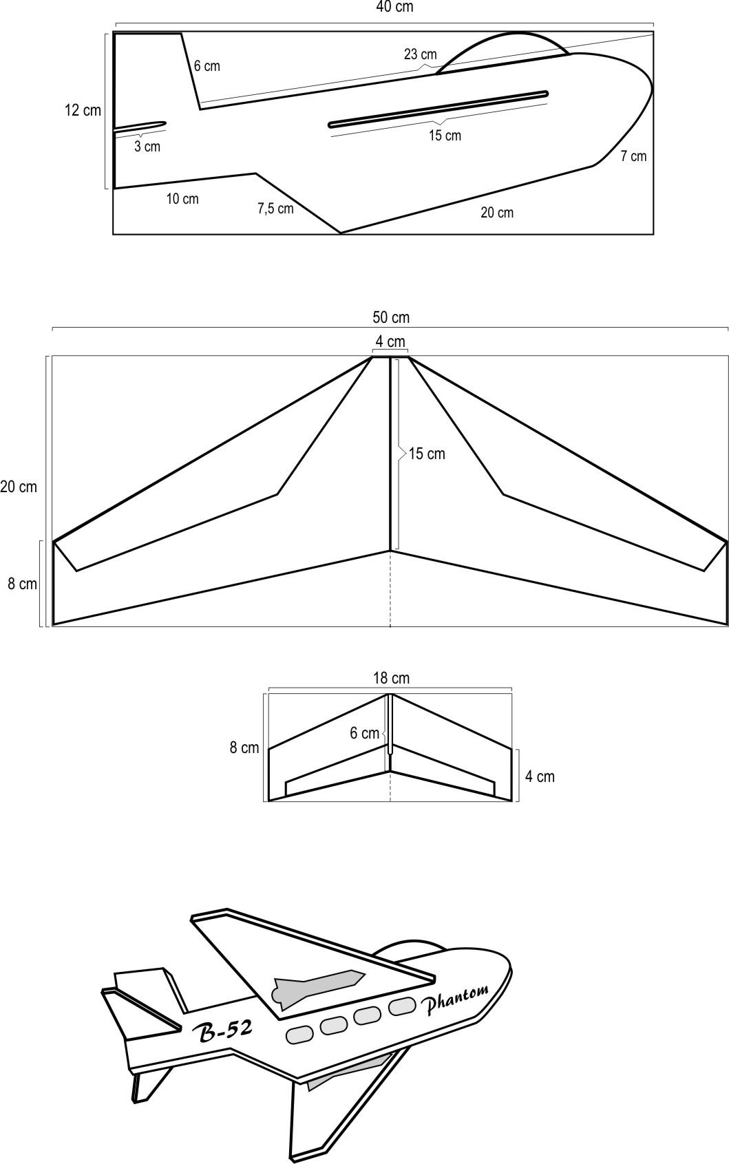 Cara Membuat Pesawat Kertas Yang Bisa Terbang Super Jauh: Membuat Pesawat RC (Remote Control